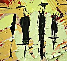Abstract black by artabstract