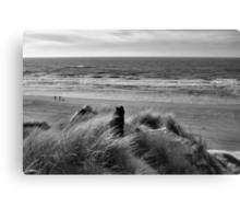 On Top of A Dune Canvas Print