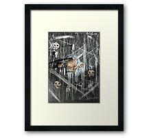 The Crawling Framed Print