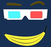 Banana and Glasses - Funny Tenth Doctor (Doctor Who) by markomellark