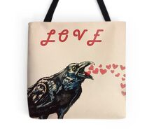 Love Crow Tote Bag