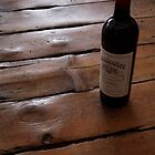 wine art #12, Wendouree on the floor 1 by stickelsimages