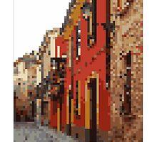 Pixel Art Cities: Piacenza by Elena Kartseva