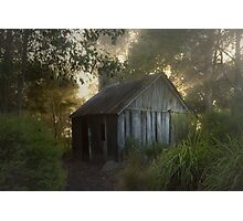 The slab hut . . . Photographic Print