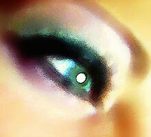 Pretty Colored Eye by down23