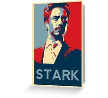 Tony Stark Propaganda Greeting Card