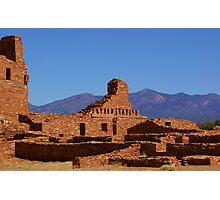 Salinas Mission Ruins - Abo Unit Photographic Print