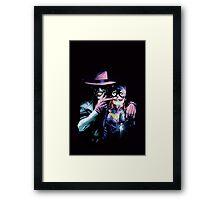 Joker - Batgirl/Batman 41 cover variant  Framed Print