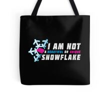 A beautiful and unique snowflake. Tote Bag