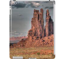 Totem Pole in the Clouds iPad Case/Skin