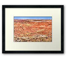 Badlands Beauty Framed Print