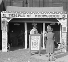 Carnival Fortune Teller, 1938 by historyphoto