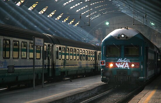 Milano Train Station, Early Morning by Luke Martin