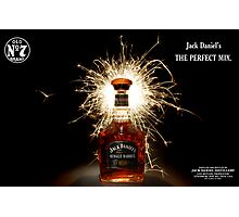 Party Time with Jack Daniels  Photographic Print