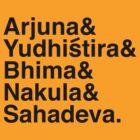 The Pandavas by Kanapathy Ramasamy