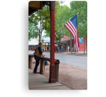 The Main Street of Tombstone Metal Print