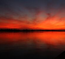 Fire on the River by Judy Vincent