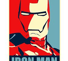 Vote for Ironman - Obamized Style by markomellark