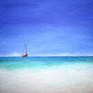 Ship at Anchor by Linda Ridpath