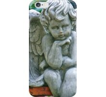 Heavy thoughts for such a little angel iPhone Case/Skin
