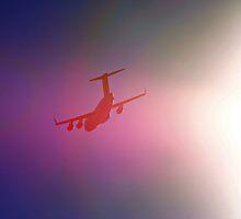 C-17 PASSING OVERHEAD by SMOKEYDOGSOCKS