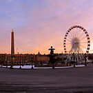 place de la Concorde, Paris at morning by baud