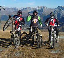 Arosa Biking by Paul Williams