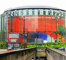 Imax Cinema London in Glorious Technicolour!!! by Carmen Taylor