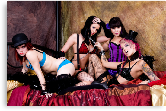 Burlesque Dollz by Bobby Deal