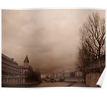 Seine River, Paris Poster