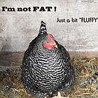 I'm not FAT.... I'm just a little bit Fluffy  by Jan  Tribe