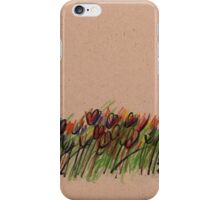 Tulips - original drawing  iPhone Case/Skin