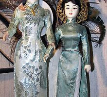 Dolls made in Viet-Nam by KatHardin