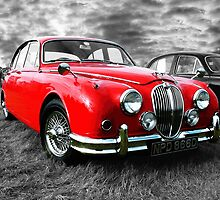 The Red Jag  by Colin J Williams Photography