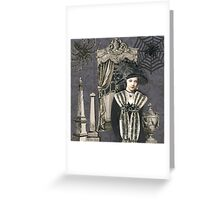 Black Widow Greeting Card