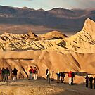 Photographers at Zabriskie Point by Nickolay Stanev