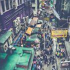 Hong Kong Street by Shari Mattox