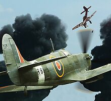 Stuka Attack ! by Colin J Williams Photography