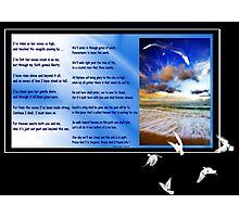Me & The Sea Photographic Print