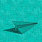 Paper Airplane 112 by YoPedro