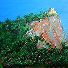 Castle of Castiglione - Capri by Carole Russell