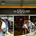 The Ugg shop by Maggie Hegarty