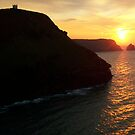 Cornwall: Sunset at Boscastle by Rob Parsons