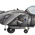 Harrier GR7 by Spencer Trickett