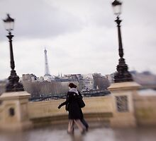 Walking In Paris by Tobin Rogers
