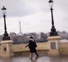 Walking In Paris by Tobin Rogers