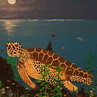 sea Turtlie by cdcantrell