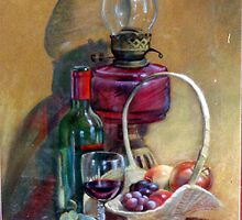 Fruit & Wine by Lynda Robinson