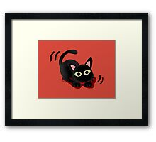 Playing with you Framed Print