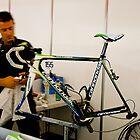 Pro team mechanic by Tom Nguyen